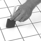 Install Tile on Sheet Vinyl Subfloors care step 3