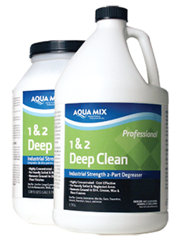 aqua mix 1&2 deep clean