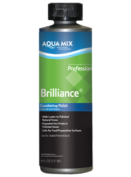 aquamix brilliance 8 oz countertop polish