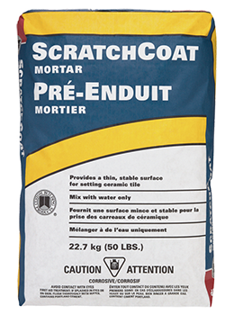 Scratch Coat Mortar