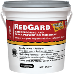 RedGard® Waterproofing and Crack Prevention Membrane