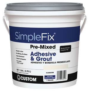 Pre-Mixed Adhesive & Grout