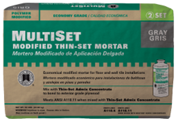 Multiset-modified-thin-set-mortar