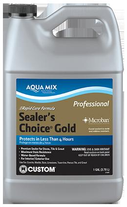 Aqua Mix Sealers | Custom Building Products
