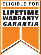 lifetime warranty installation system