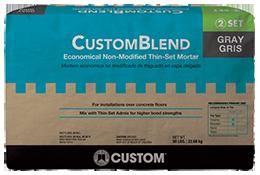 CustomBlend® Economical Non-Modified Thin-Set Mortar