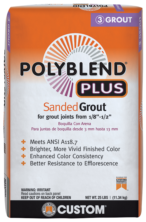 Polyblend®Plus Sanded Grout