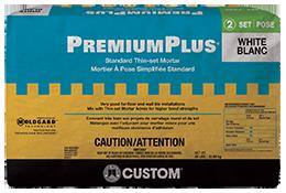 PremiumPlus® Premium Non-Modified Thin-Set Mortar