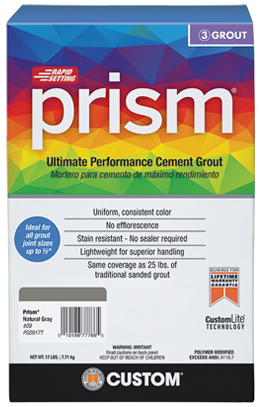 Prism® Ultimate Performance Grout