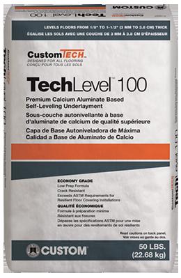 CustomTech™ TechLevel™ 100 Self-Leveling Underlayment