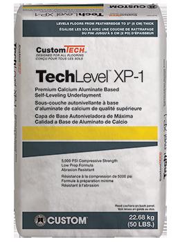 CustomTech™ TechLevel™ XP-1™ Self-Leveling Underlayment