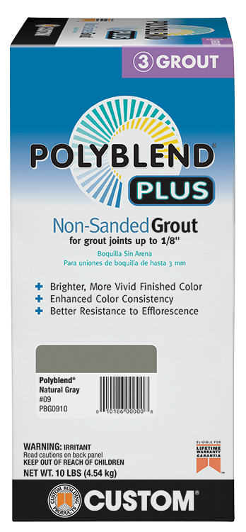 Polyblend®Plus Non-Sanded Grout